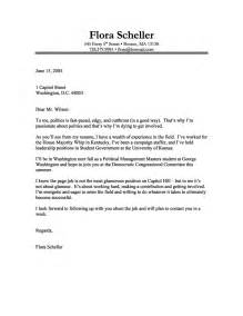 Exles Of Written Cover Letters by Cover Letter Sles