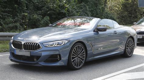 2020 Bmw 850i by 2020 Bmw 8 Series Convertible Spied With Nearly No