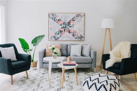 ideas sobre decoracion salon gris  blanco