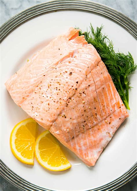 Poached Salmon | poached salmon recipe simplyrecipes com