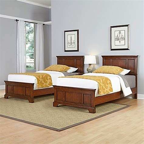 bed bath and beyond chesapeake home styles chesapeake 3 piece twin beds and nightstand