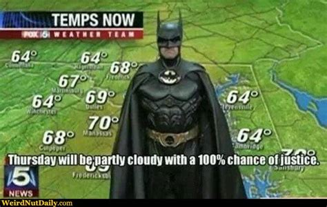 partly cloudy with a quot chance quot of lol what a pictures weirdnutdaily 100 chance of justice