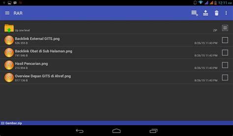 cara membuat file update zip android cara membuka dan membuat file rar zip di android