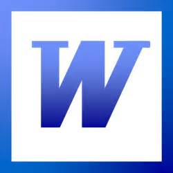 Image result for word icon