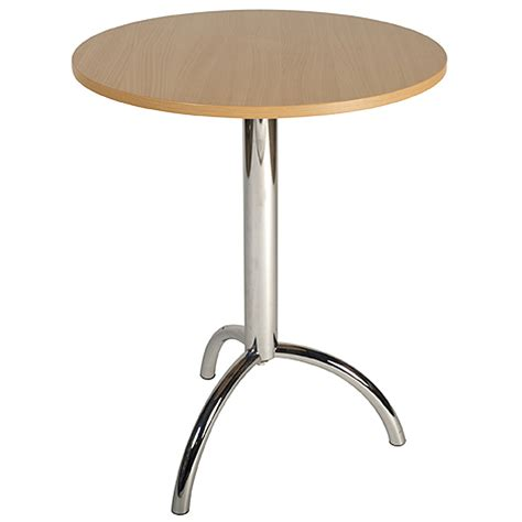 White Bistro Table Tb07 Circular Bistro Table 61cm Black Beech Or White Inspire Hire