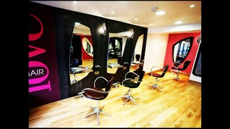 home hair salon decorating ideas awesome elegant hair salon interior design decoration
