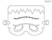 free printable halloween masks to colour printable halloween masks 2 frankenstein halloween