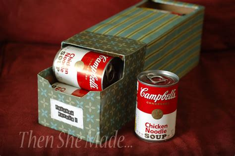 soup can holder for pantry survival food storage year zero survival premium