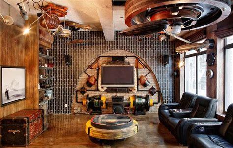 Old Bedroom Furniture steampunk bedroom design ideas furniture wallpaper and