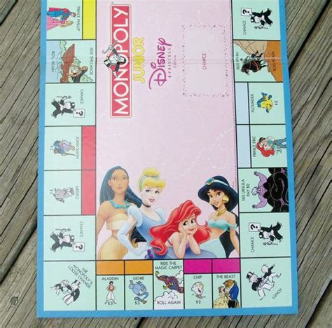 Monopoly Junior Princess 112 best images about scrapbooking altered and mixed