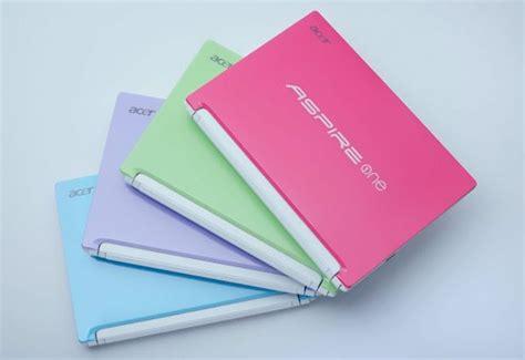Laptop Acer Aspire One Warna Pink acer semakin happy dengan warna pastel jagat review