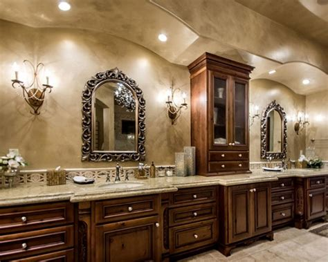 Tuscan Bathroom Ideas | customize contemporary tuscany bathroom cabinets decor