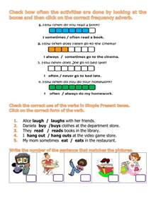 Part Of A Flower Worksheet - frequency adverbs interactive worksheet