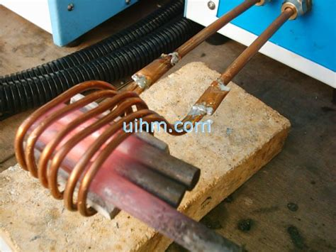 induction heating rod induction forging steel rods united induction heating machine limited of china