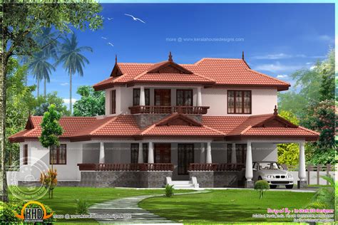 Kerala Model House Plans With Elevation 3 Bedroom Kerala Model Home Elevation Kerala Home Design And Floor Plans
