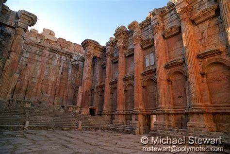 Interior Photography baalbek bacchus temple interior