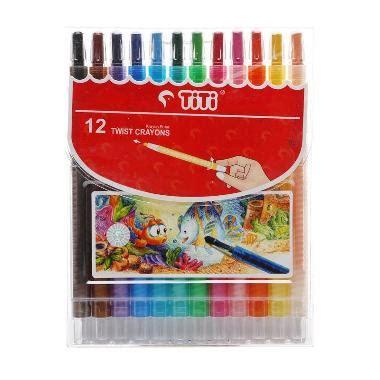 Crayon Titi Putar Isi 12 Twist Crayon jual titi crayon ti cp 12t crayon putar