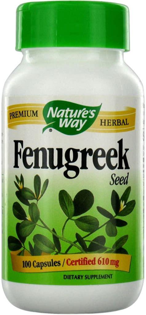 Fenugreek Natures Way 100 Caps nature s way fenugreek seed 100 capsules