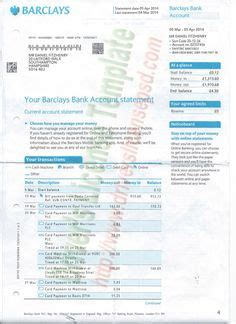 Bank Statement Suntrust Suntrust Bank Statement Template