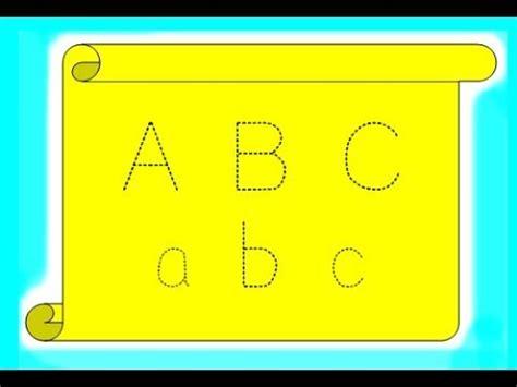membuat video animasi menulis cara membuat huruf putus putus belajar menulis anak
