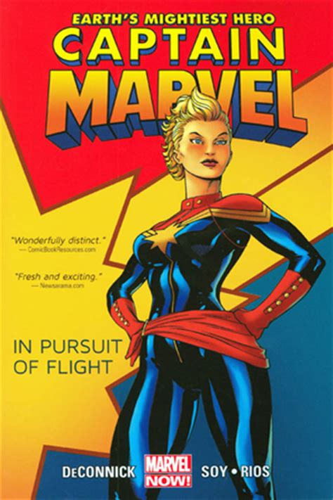 volume 1 books captain marvel volume 1 in pursuit of flight by