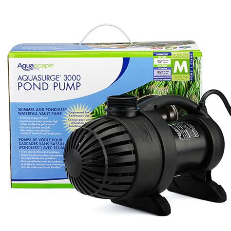 aquascape 3000 pump aquascape aquasurge 3000 pump mpn 91018 best prices on everything for ponds and