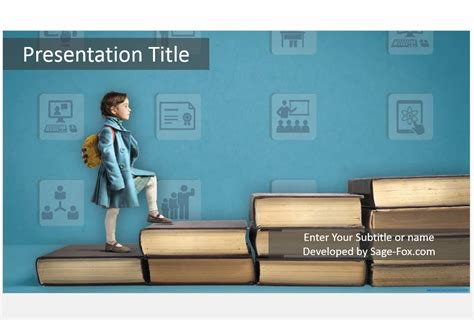 Free Education Powerpoint 4861 Sagefox Powerpoint Templates Free Education Powerpoint Template