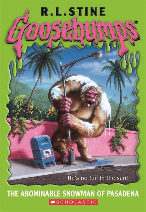 libro the abominables mejores 57 im 225 genes de goosebumps original covers en