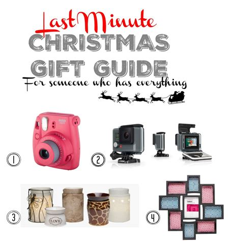 christmas gift guide last minute already has