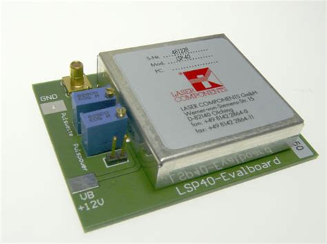 pulsed laser diode driver module driver modules and electronics for the operation of pulsed laser diodes laser diode accessories
