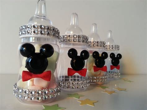 Baby Shower Decorations Mickey Mouse by 12 Mickey Mouse Fillable Blocks Baby Shower Favors Prizes