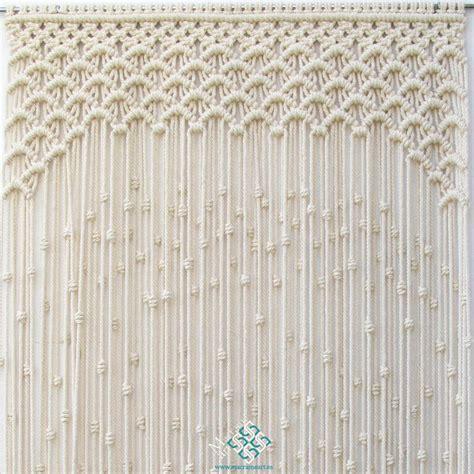 macrame cortinas cortina de macram 233 modelo ondas puedo hacer cortina de