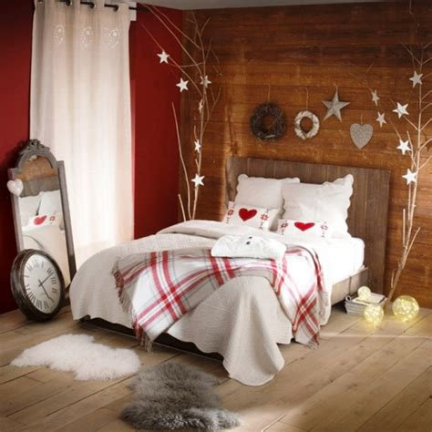 Christmas Bedrooms | 30 christmas bedroom decorations ideas