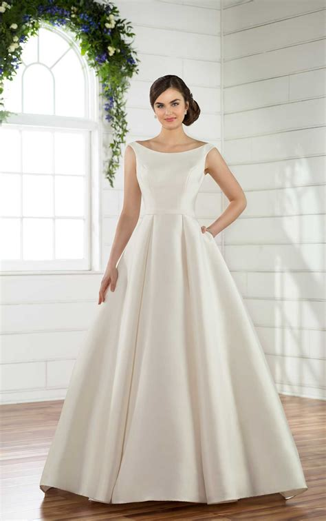 Wedding Dress Clothing by Modest Traditional Wedding Dress Essense Of Australia