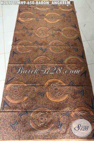 Batik Tulis Motif Babon Angkrem sedia kain batik klasik mewah motif babon ngkrem batik