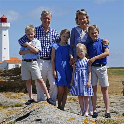 imagenes de vacaciones reales felipe y matilde de b 233 lgica con sus hijos en sus primeras