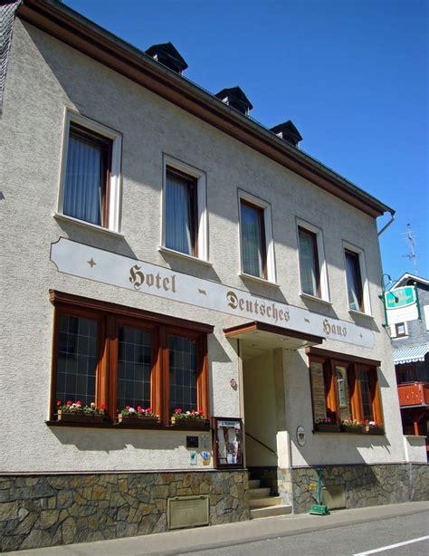 Hotel Deutsches Haus Hotels Kaub Rheinland Pfalz