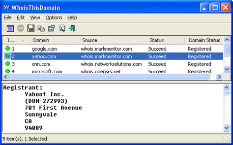 Registered Ip Address Lookup Domain Name Search Tool Whois For Windows