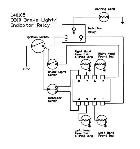 motorcycle turn signal wiring diagram tamahuproject org at
