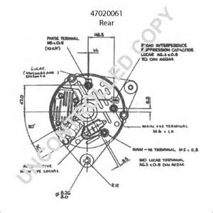 47020061 alternator product details prestolite leece neville