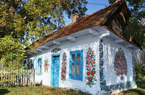 house of polish this polish town with hand painted homes is kind of the cutest place ever fodors travel guide