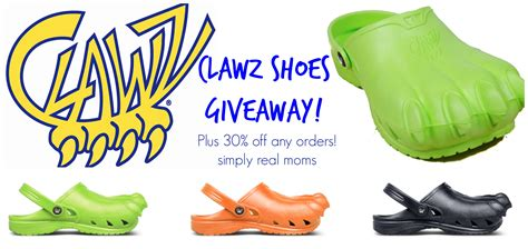 Giveaway Shoes - clawz shoes giveaway