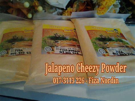 sebalik kehidupan jalapeno cheese powder