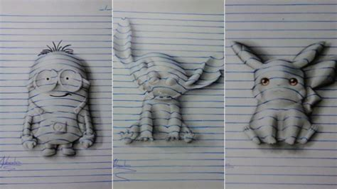 How To Make Paper Look 3d - notepad illusions look like 3d sculptures but they re 2d