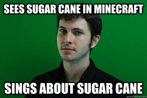 Toby Meme - sees sugar cane in minecraft sings about sugar cane toby