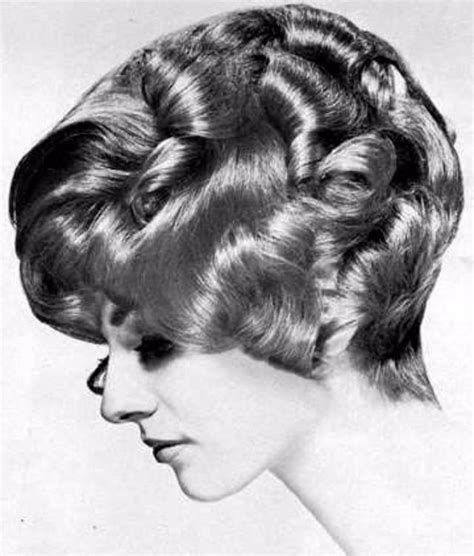 layered hair styles medium 1960 layered curly hair the favorite hairstyle of women from