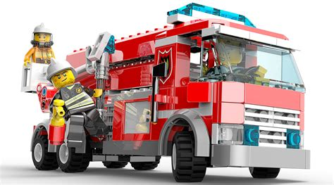 Fireman Wall Stickers fire truck characters amp art lego city undercover