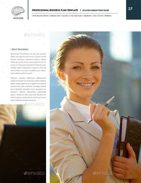 sample personal business plan template 7 free documents