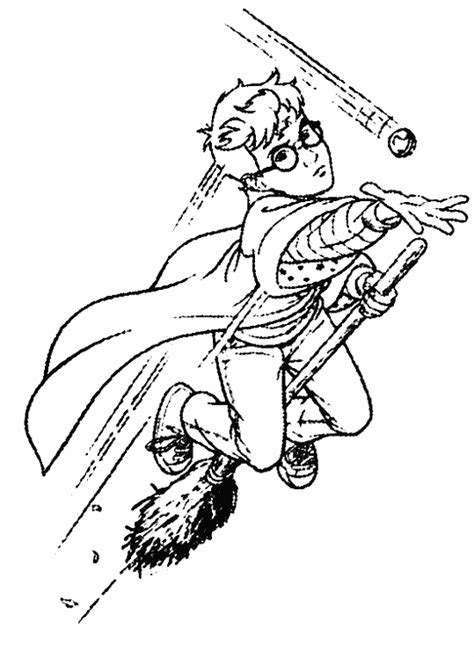 harry potter coloring pages quidditch free coloring pages of harry potter quidditch
