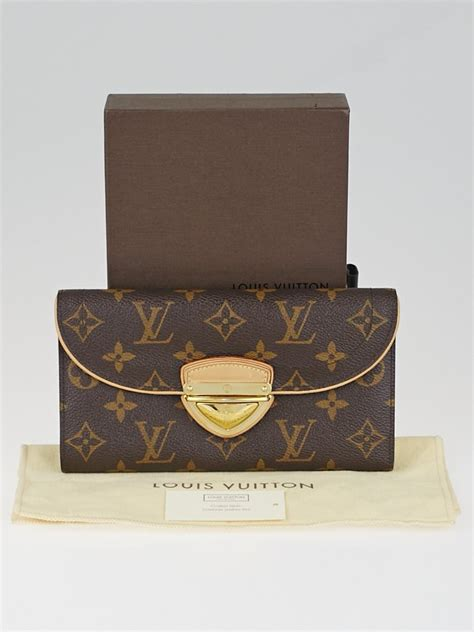 louis vuitton monogram canvas eugenie wallet yoogis closet